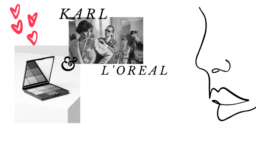 Karl i Loreal BACKGROUND