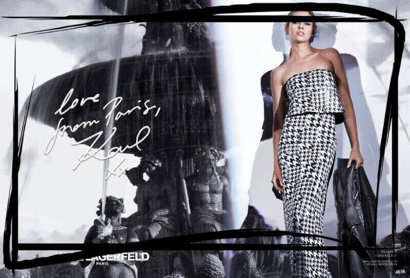 paryska pepitka Parisian peptics Karl Lagerfeld