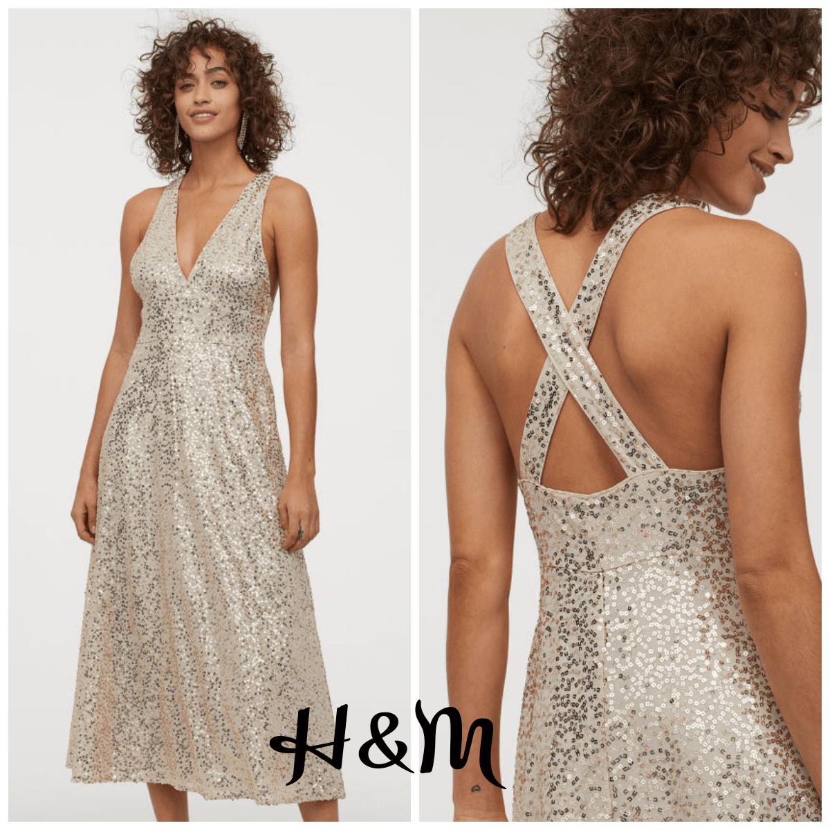 studniówka 2020 sukienka H&M