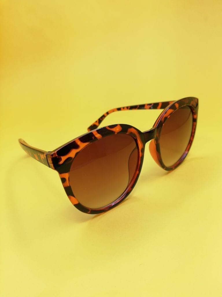 okulary przeciwsłoneczne szylkretowe