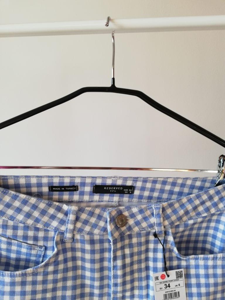 jeansowa spódniczka Reserved