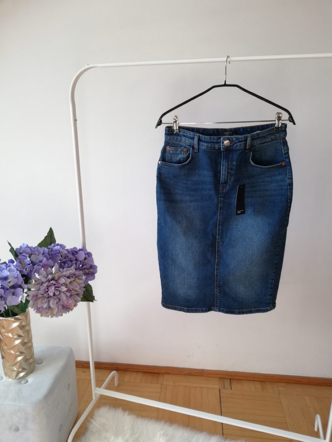 spódnica jeansowa Reserved denim