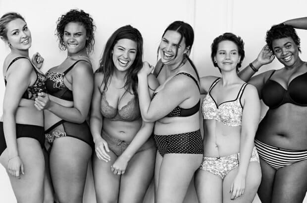 kobiecość plus size a kilogramy