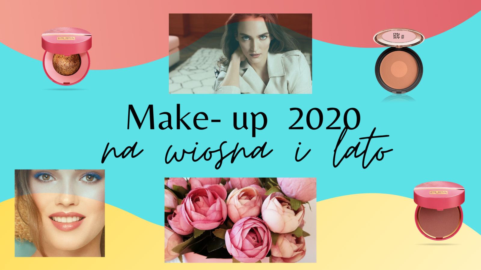 makijażowe trendy wiosna i lato 2020 make up