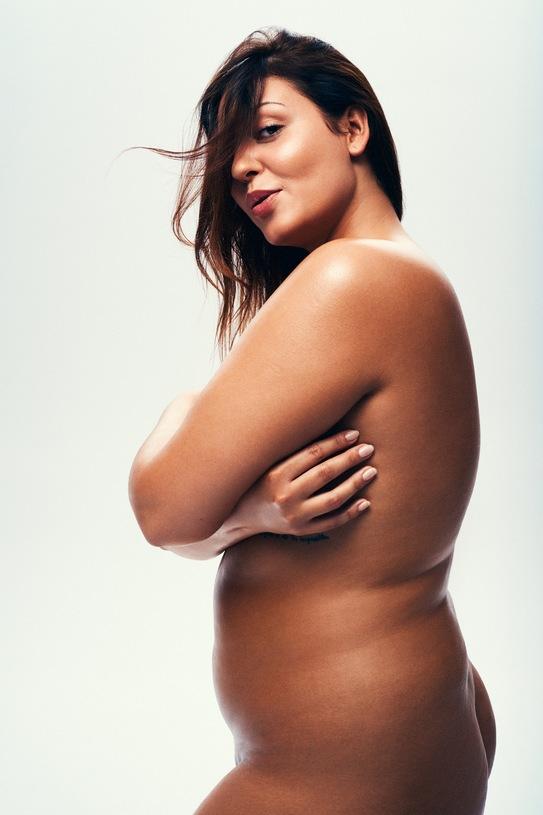 kobieta plus size i kilogramy