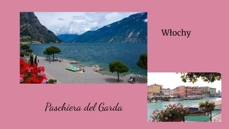 włoskie wakacje Paschiera del Garda widok