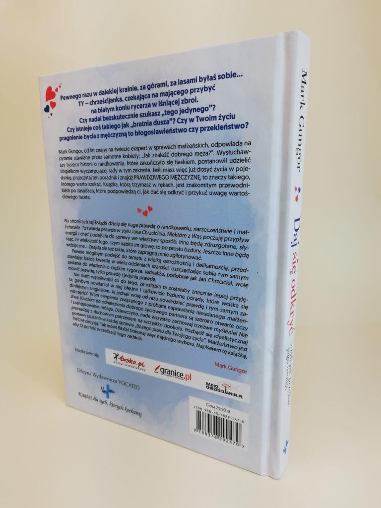 książka Daj się odkryć czyli jak przykuć jego uwagę okładka 2