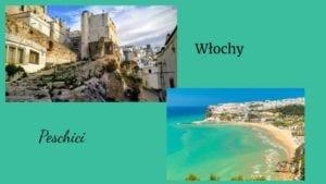 włoskie wakacje Peschici widok
