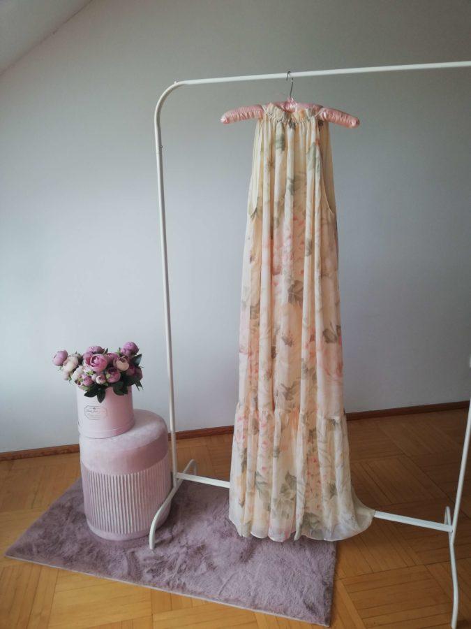 letnie wyprzedaże 2020 sukienka z szyfonu H&M