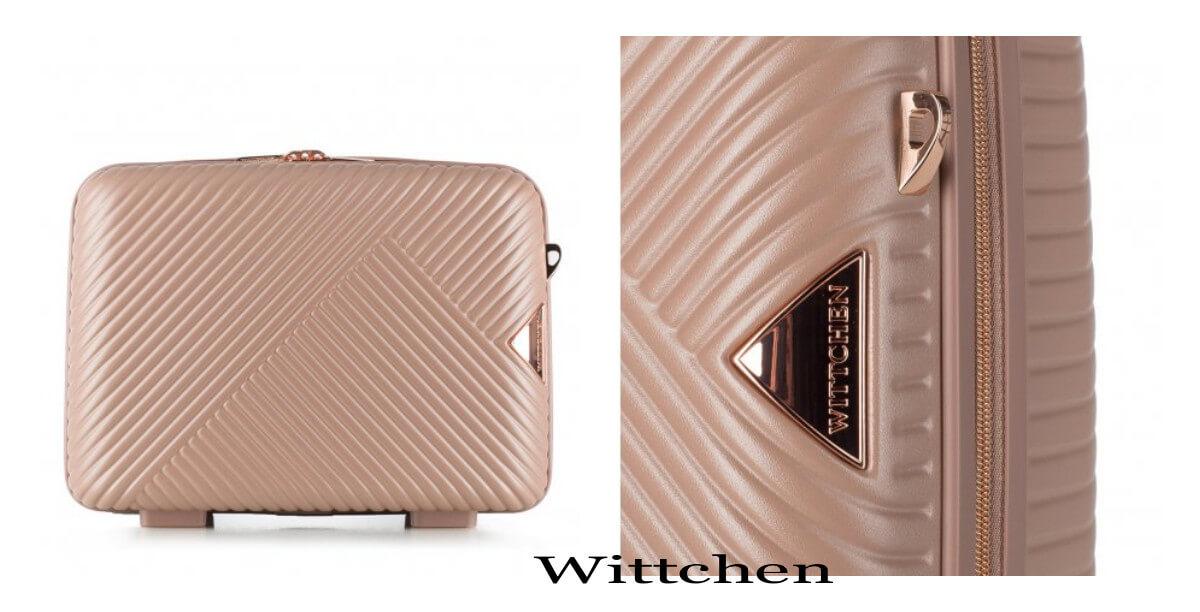 kosmetyczka na wakacje Wittchen beżowa