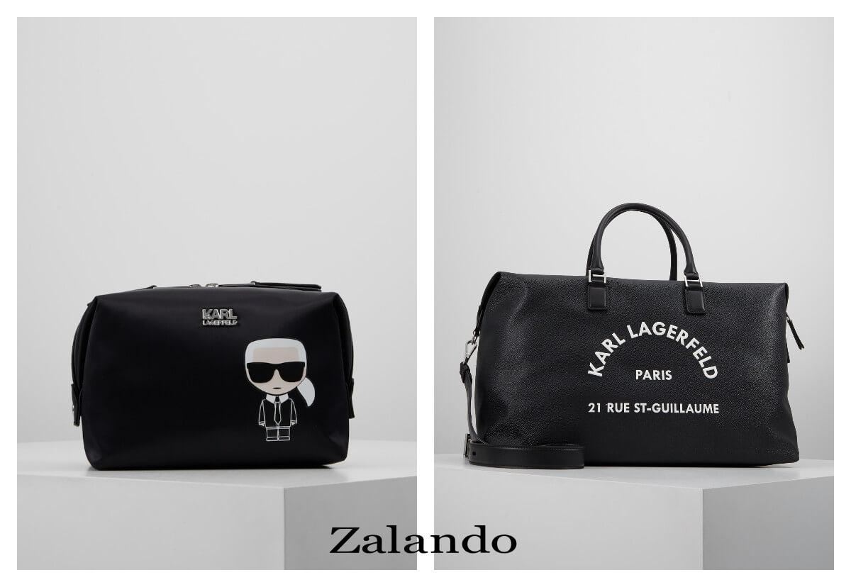 torbna na wakacje Karl Lagerfeld z Zalando