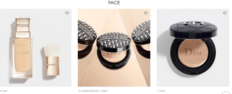 makijaż markami premium kompakty od DIora