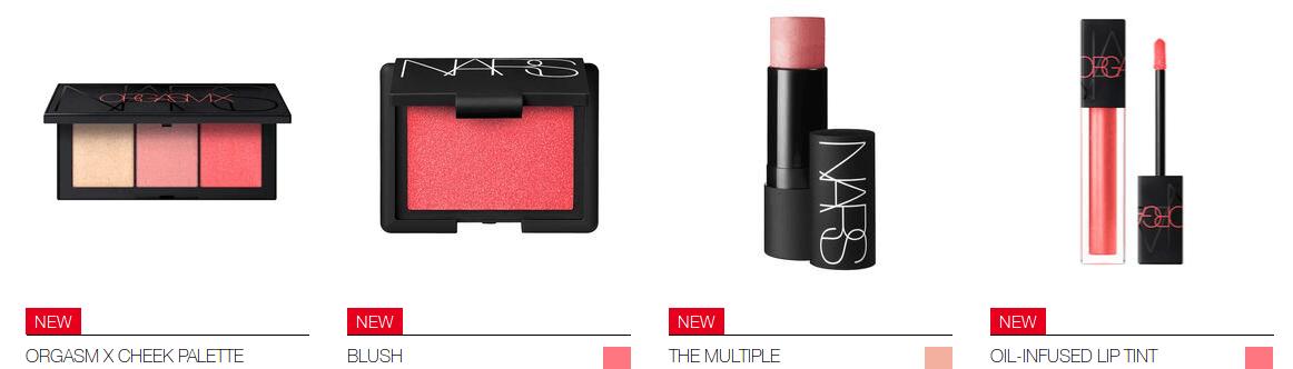 makijaż markami premium zestaw kosmetyków od Nars