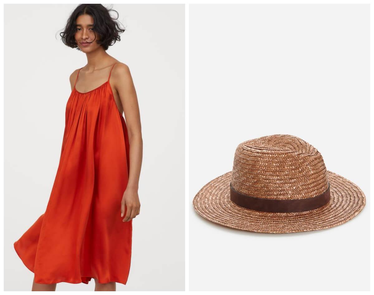 wakacje 2020 sukienka z H&M