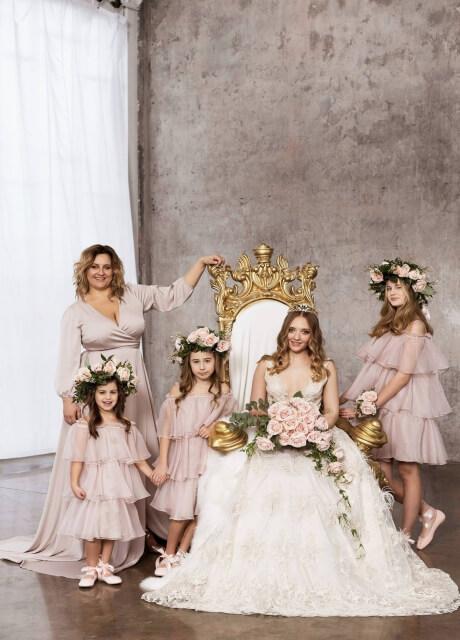 Ślub od pierwszego wejrzenia Dorota Goldpoint suknie i małe dziewczynki