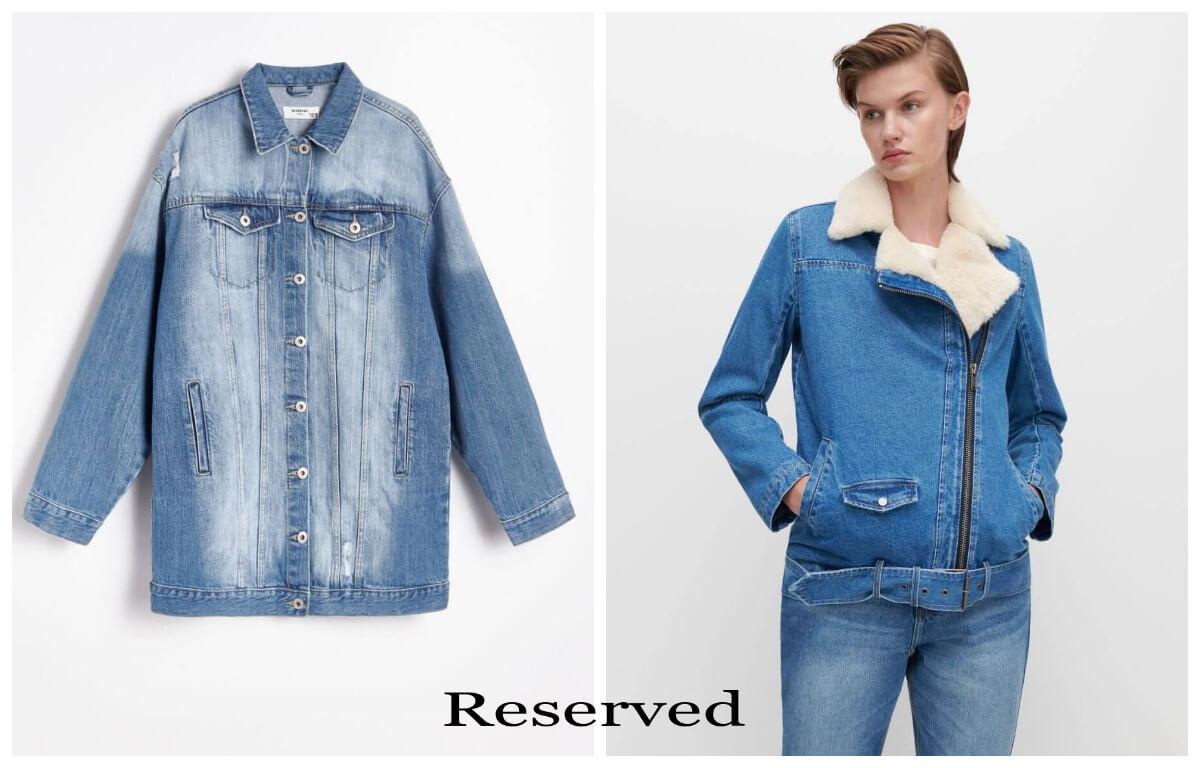 jeans król trendów jesień 2020 kurtki jeansowe z reserved