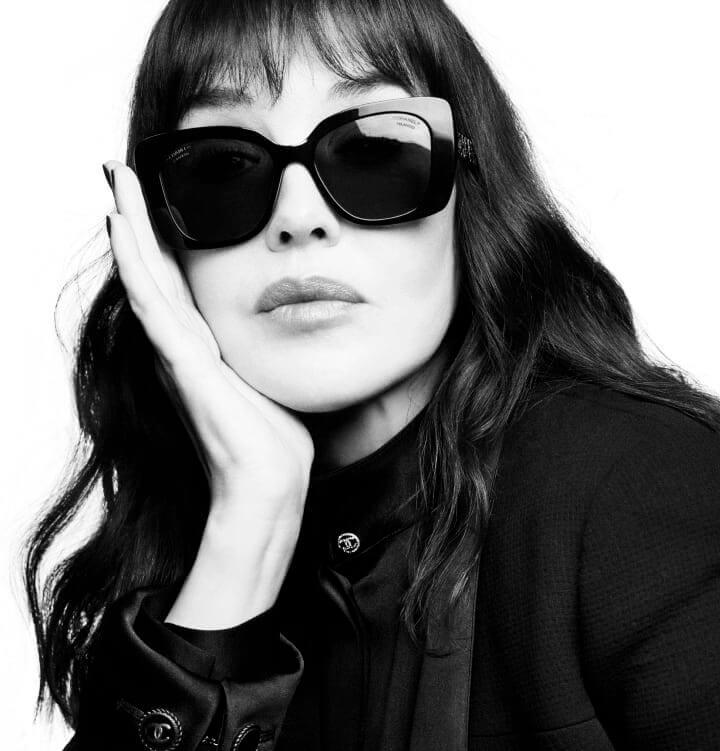 francuska aktorka e okularach od Chanel