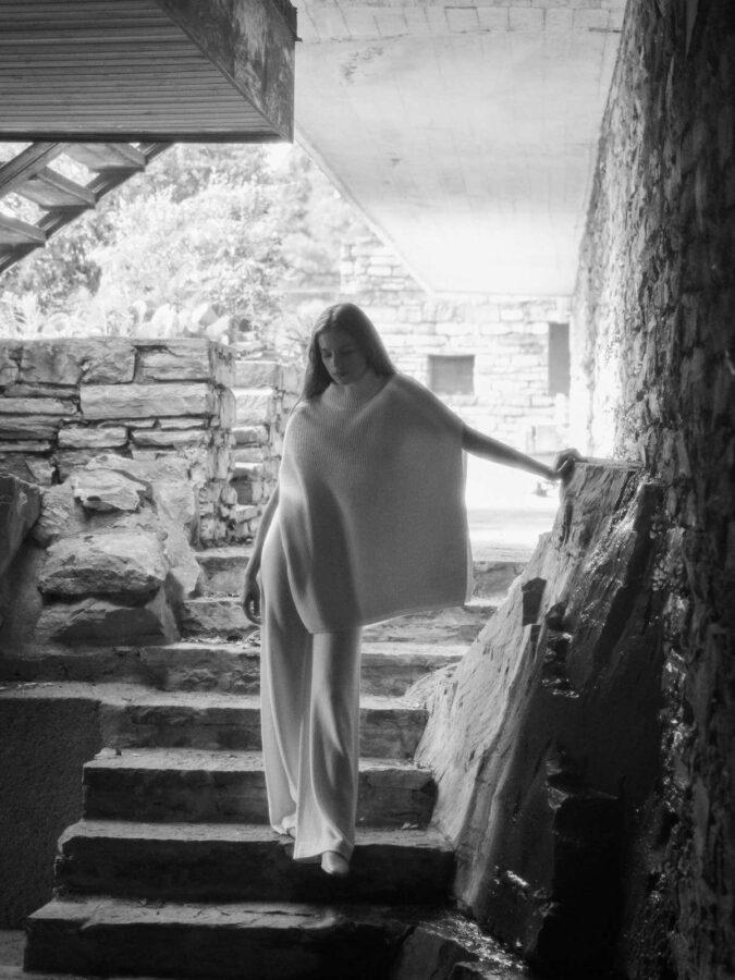 modnie i wygodnie od Maxa Mara biały komplet