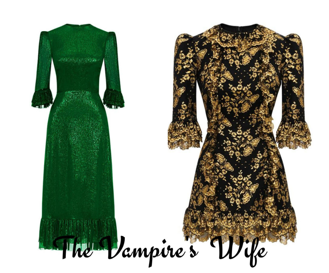 new romantic od H&M The Vimpire's Wife dwie sukienki