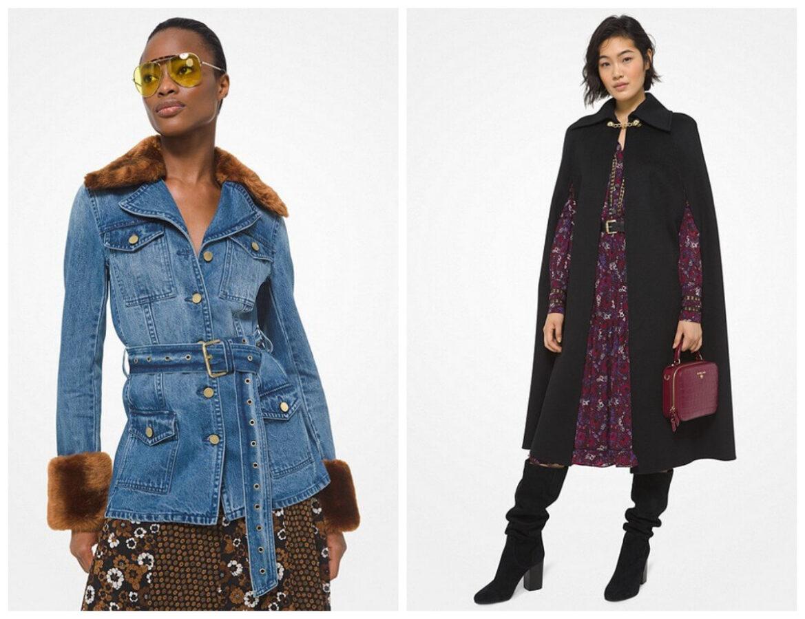 boho style na jesień 2020 modelki w płaszczach
