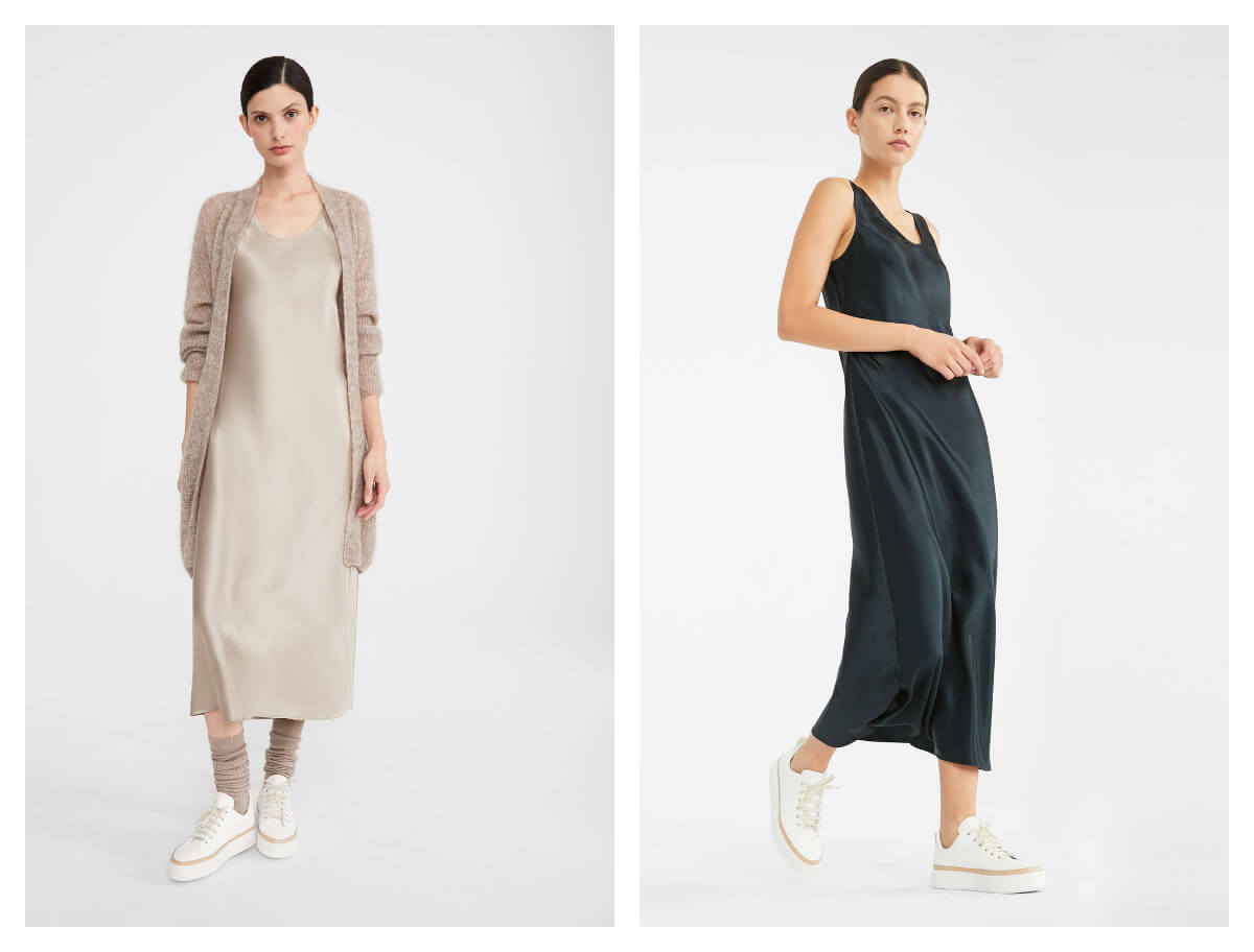 modnie i wygodnie od Max Mara sukienki jedwabne