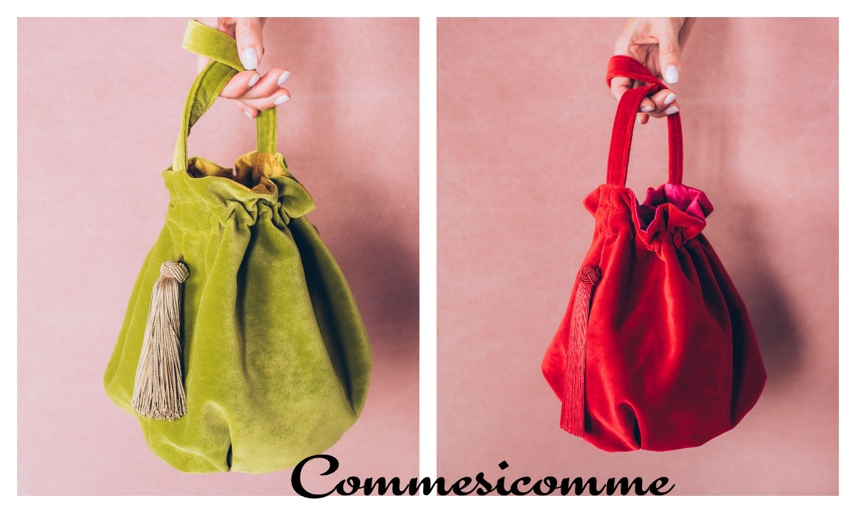 new romantic od Comme si Comme sac dwie torebki
