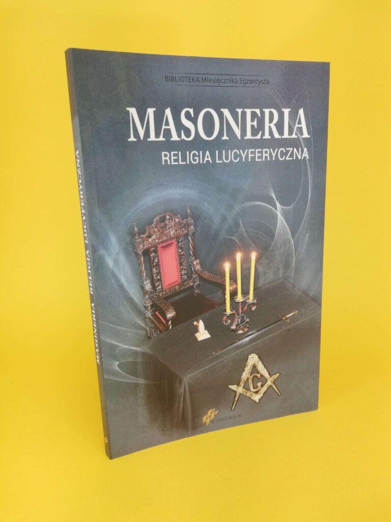 Masoneria okładka ksiazki