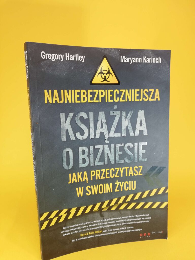 najniebezpieczniejsza książka o biznesie okładka pierwsza