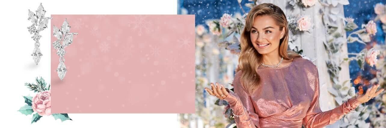 Małgorzata Socha  w różu