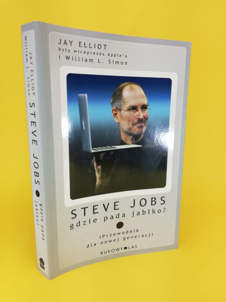okładka książki o Steve Jobs