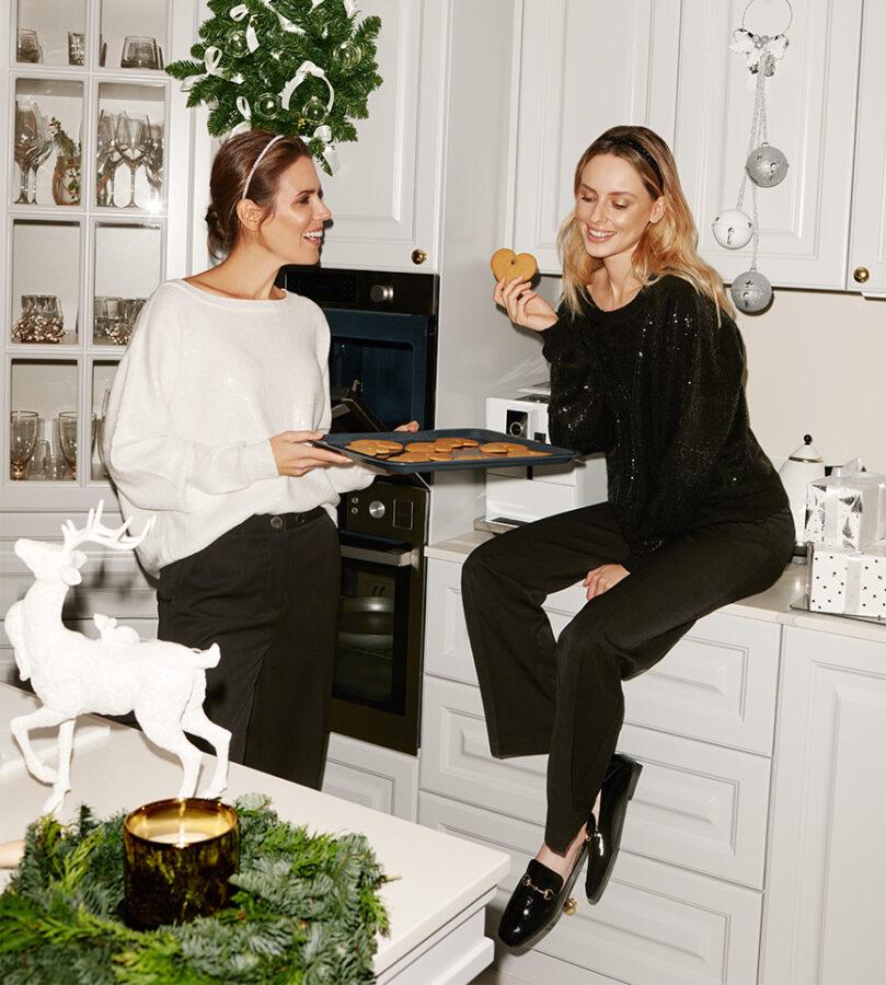 mohito modelki w kuchni