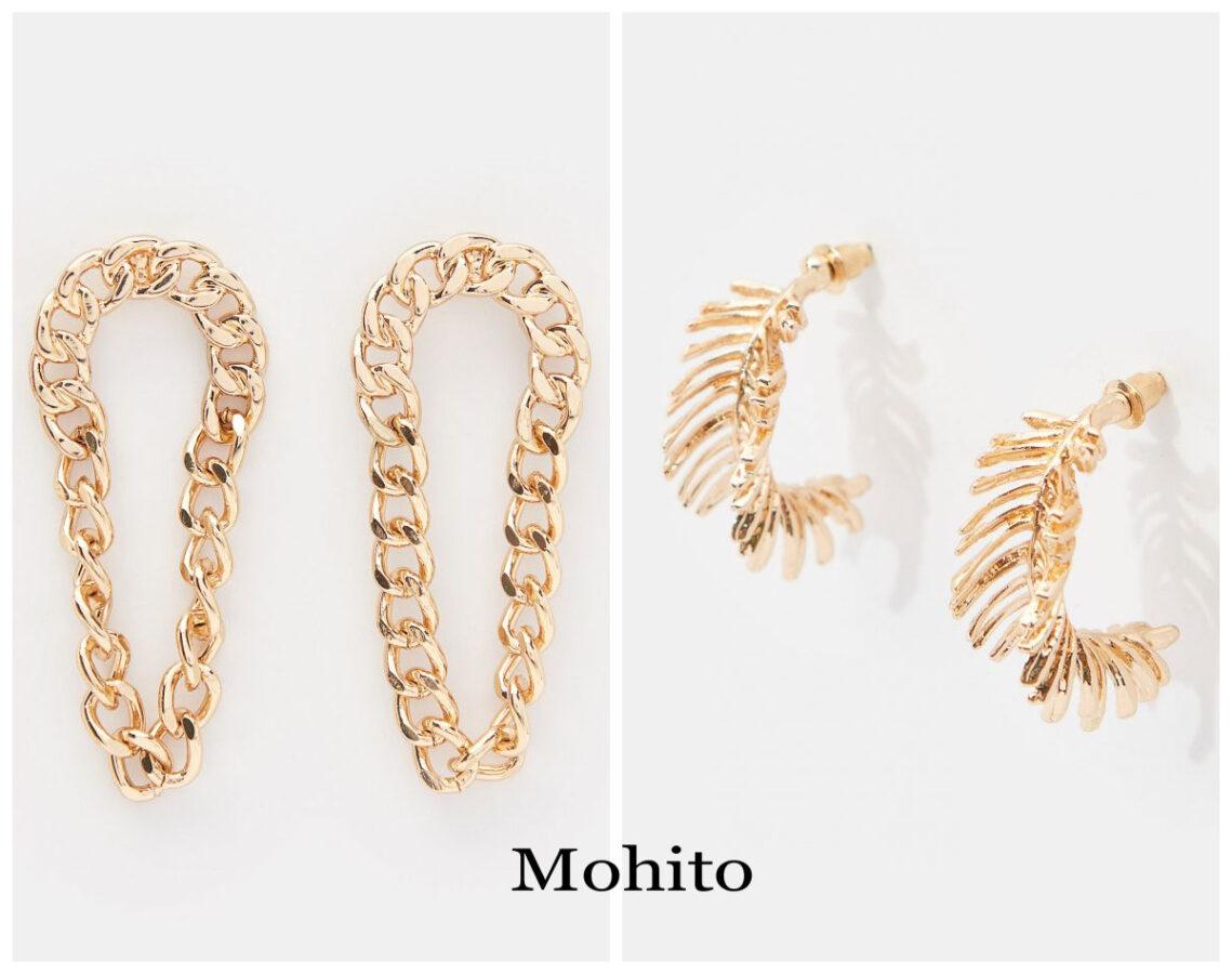 kolczyki z Mohito dwie pary