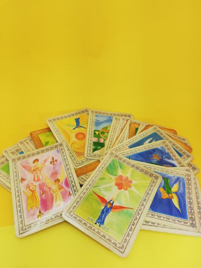 karty anielskie i wrózby