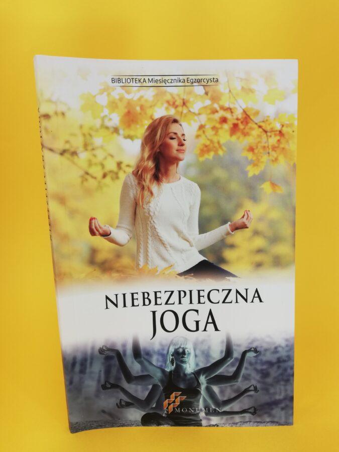 Niebezpieczna joga przód okładki