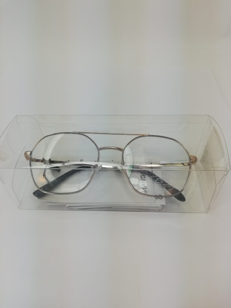 okulary nowe zerówki od Mango w pudełku
