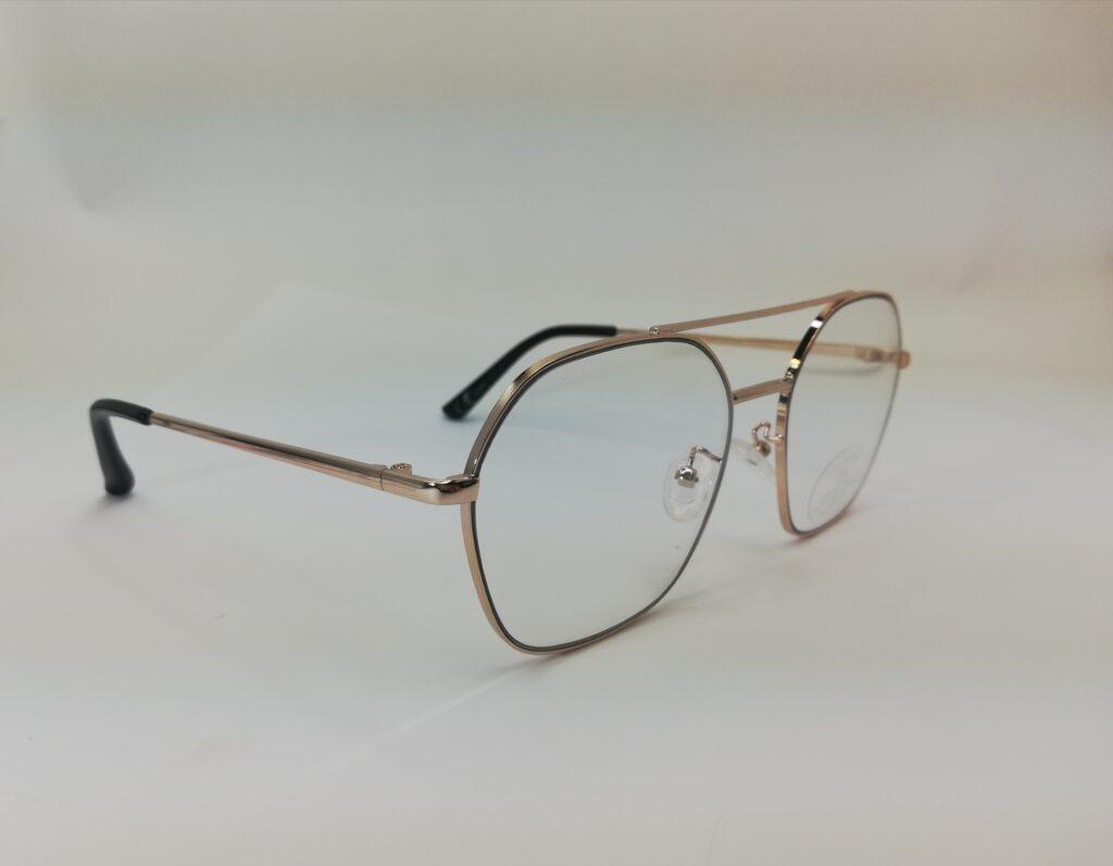 okulary zerówki z boku