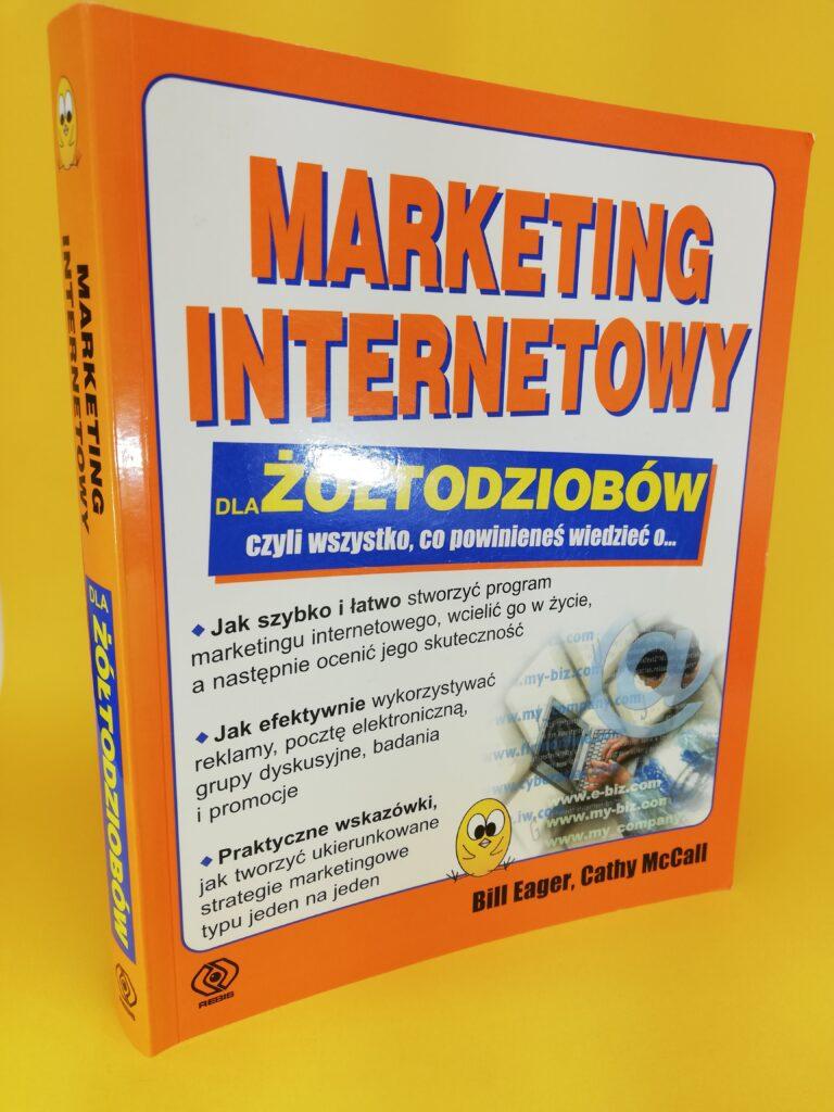 Marketing internetowy dla żółtodziobów okładka pierwsza