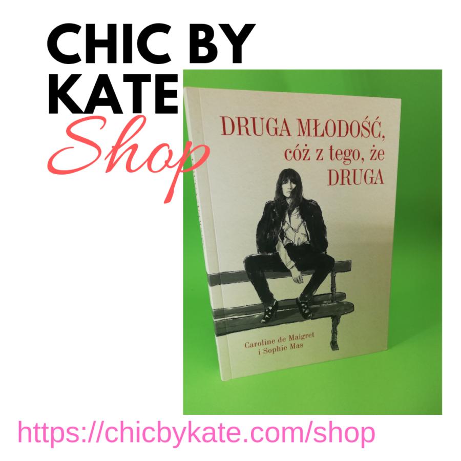 reklama ksiązki w sklepie chicbykate.com