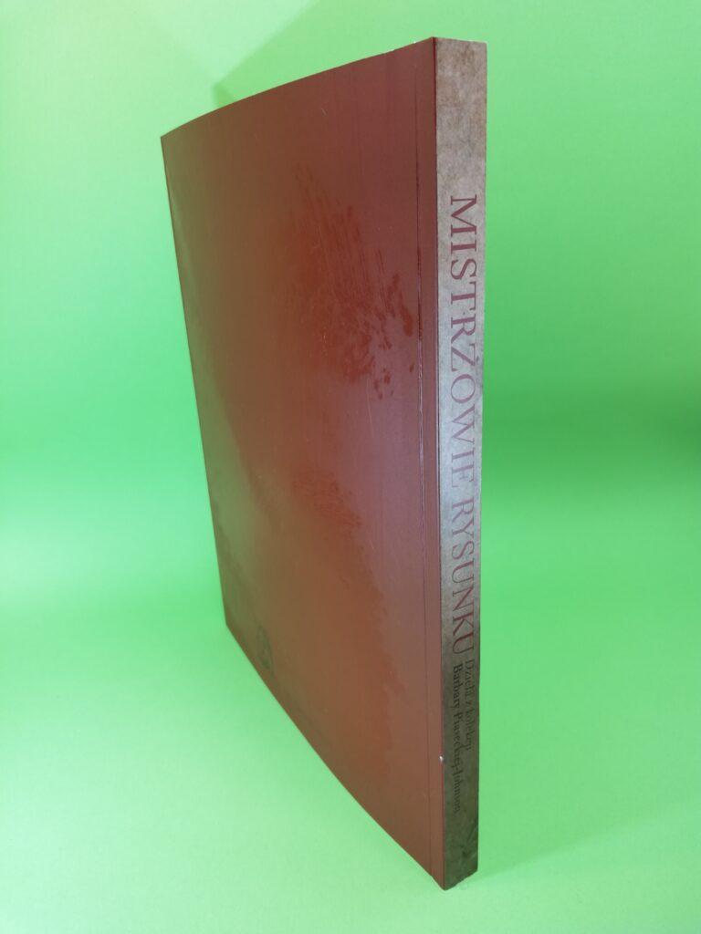okładka tylna Mistrzowie rysunku dzieła z kolekcji Barbary Piaseckiej- Johnson