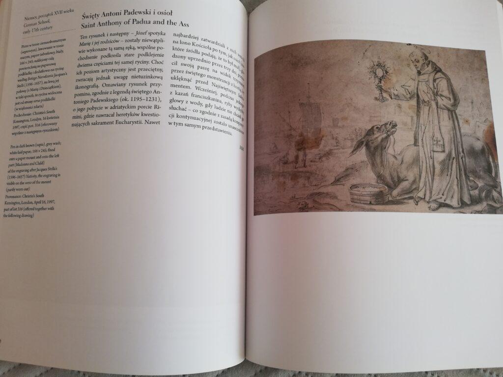 zawartośc albumu Mistrzowie rysunku dzieła z kolekcji Barbary Piaseckiej- Johnson