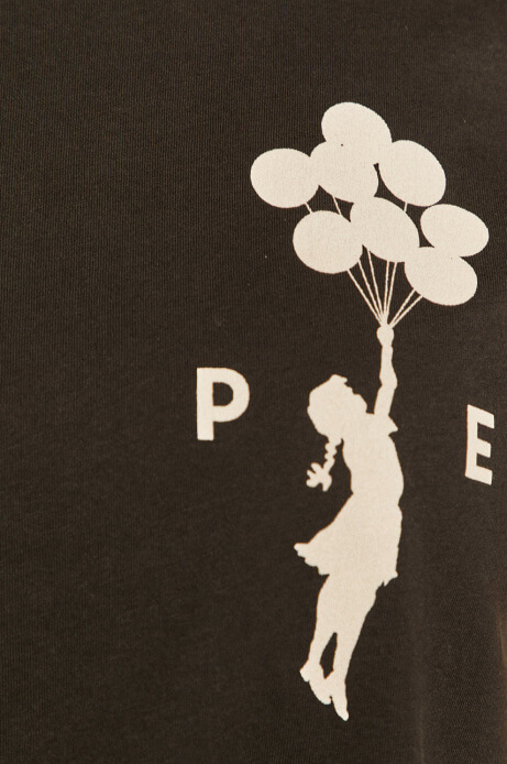 dziewczynka z balonikami zarys