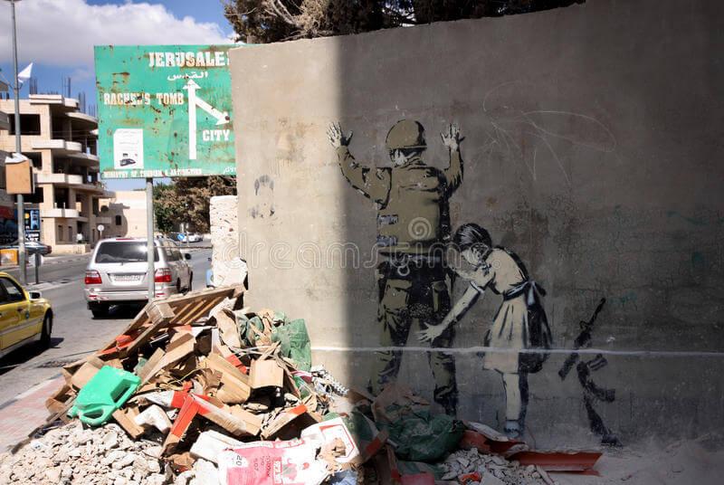 Banksy w Palestynie 2