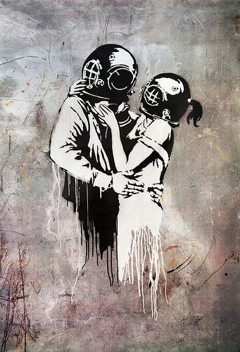 miłość i Banksy