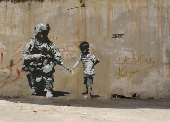 Banksy w Palestynie