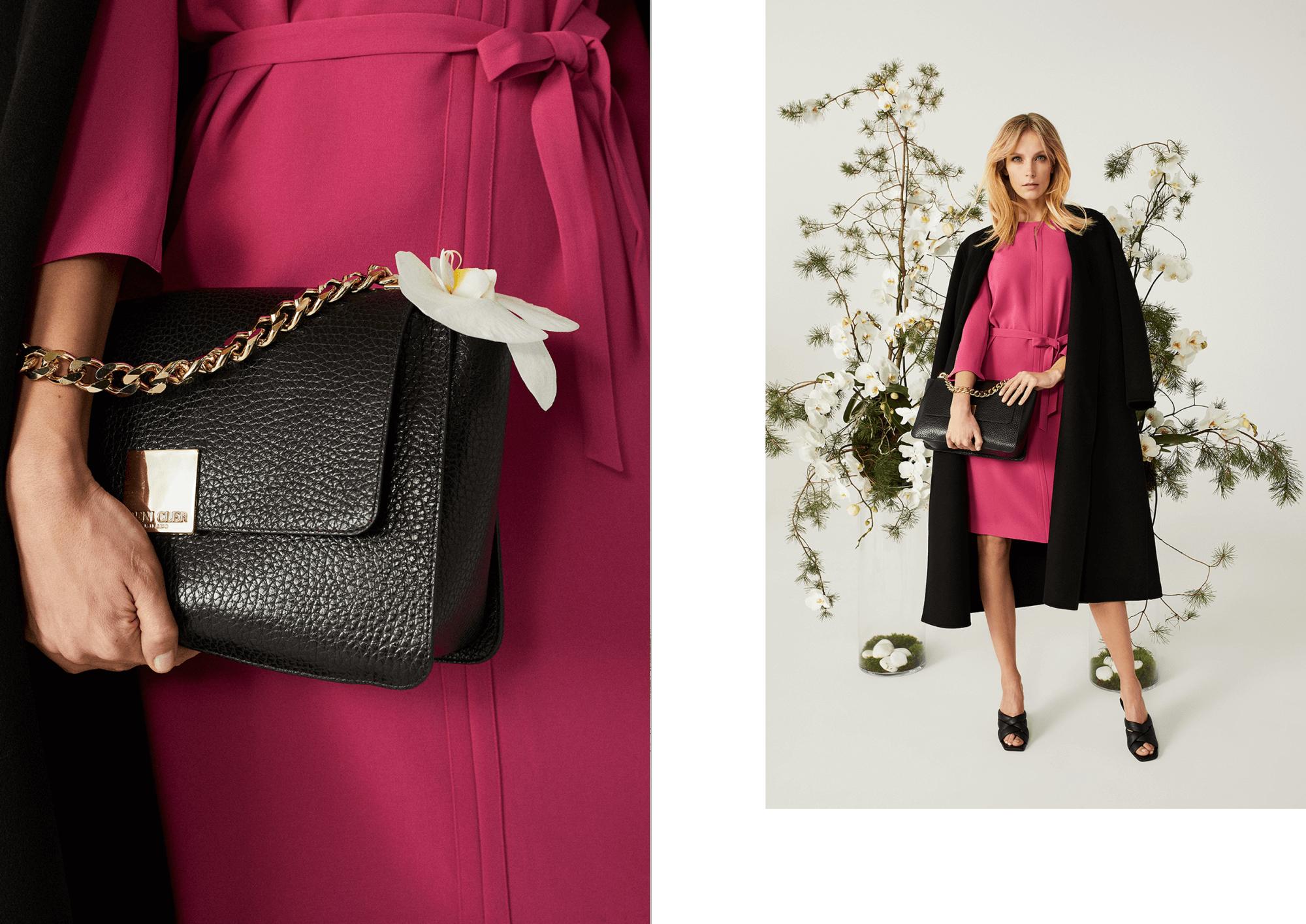 Sukienki na wiosnę i lato 2021 różowa sukienka od Deni Cler