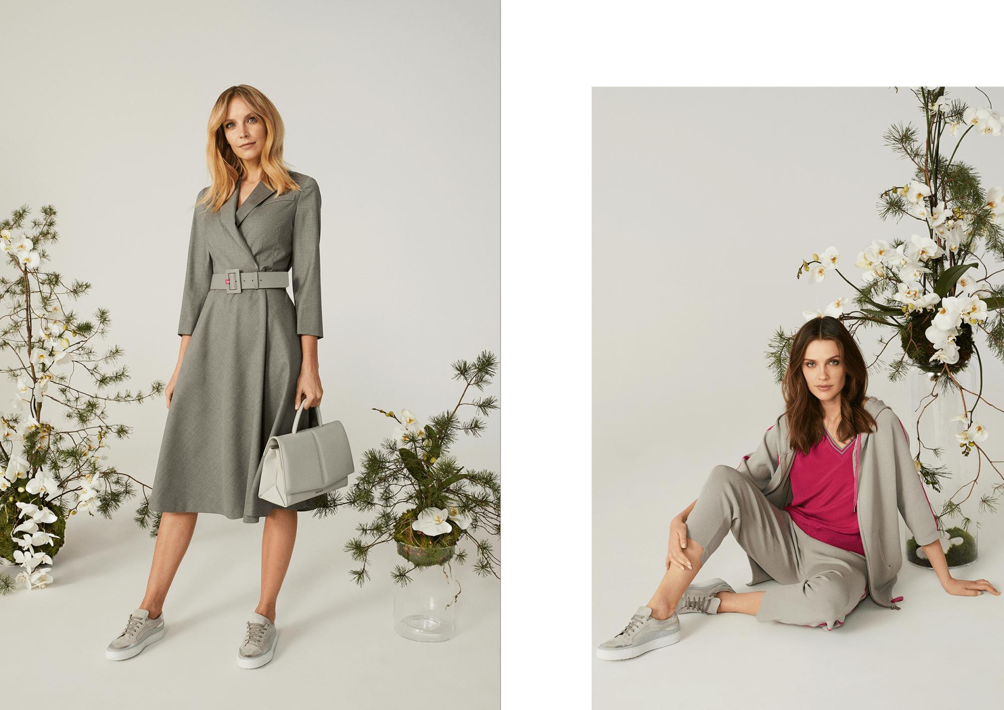 Sukienki na wiosnę i lato 2021 szare propozycje