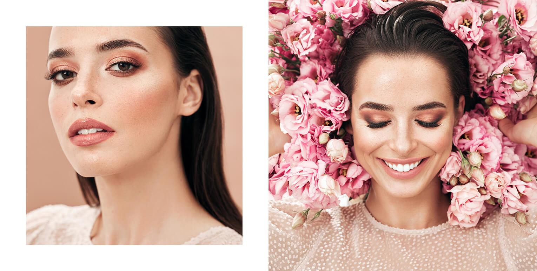 Sukienki na wiosnę i lato 2021 modelki i makijaż