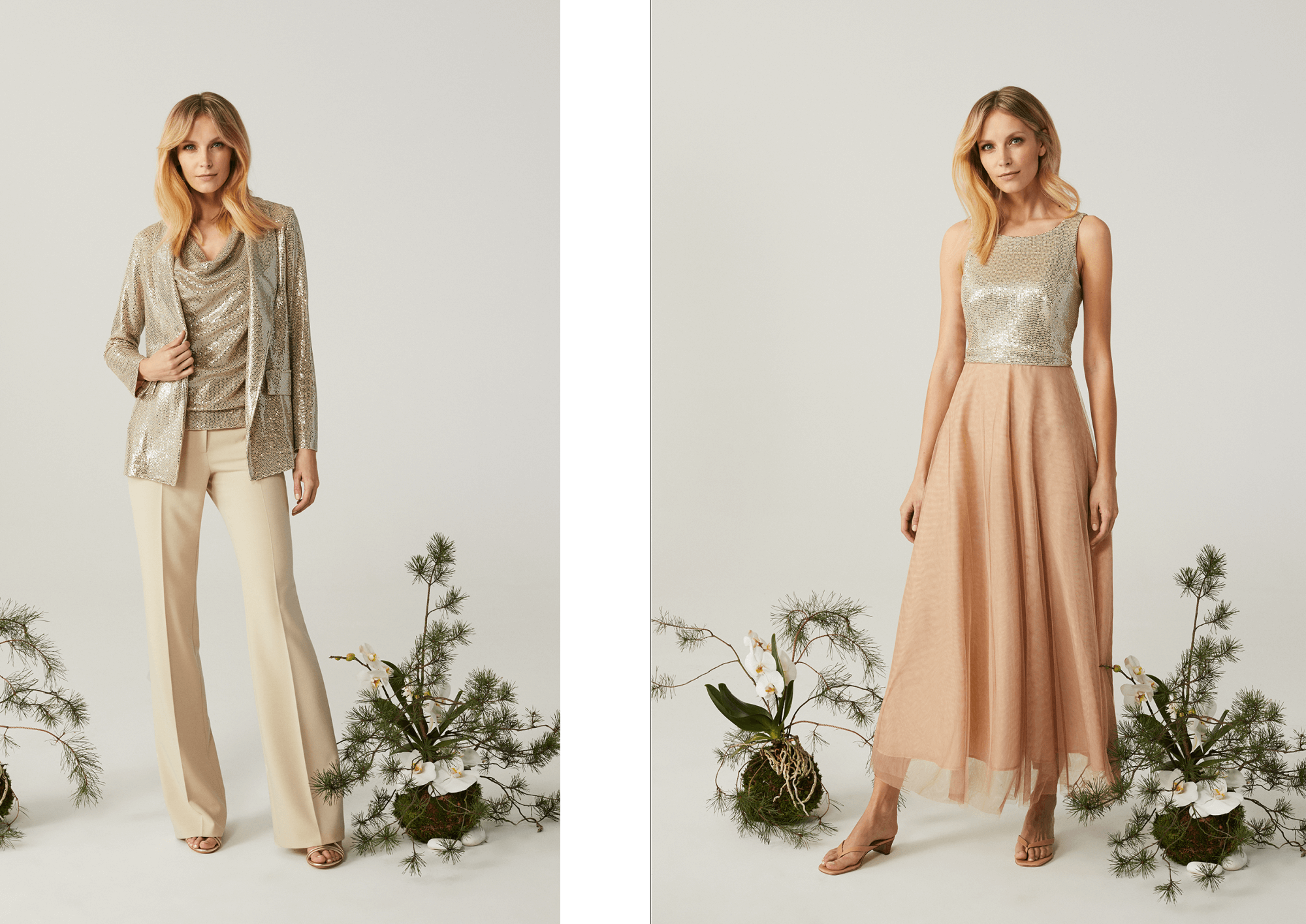 https://denicler.eu/ różowe sety sukienki na wiosnę i lato 2021