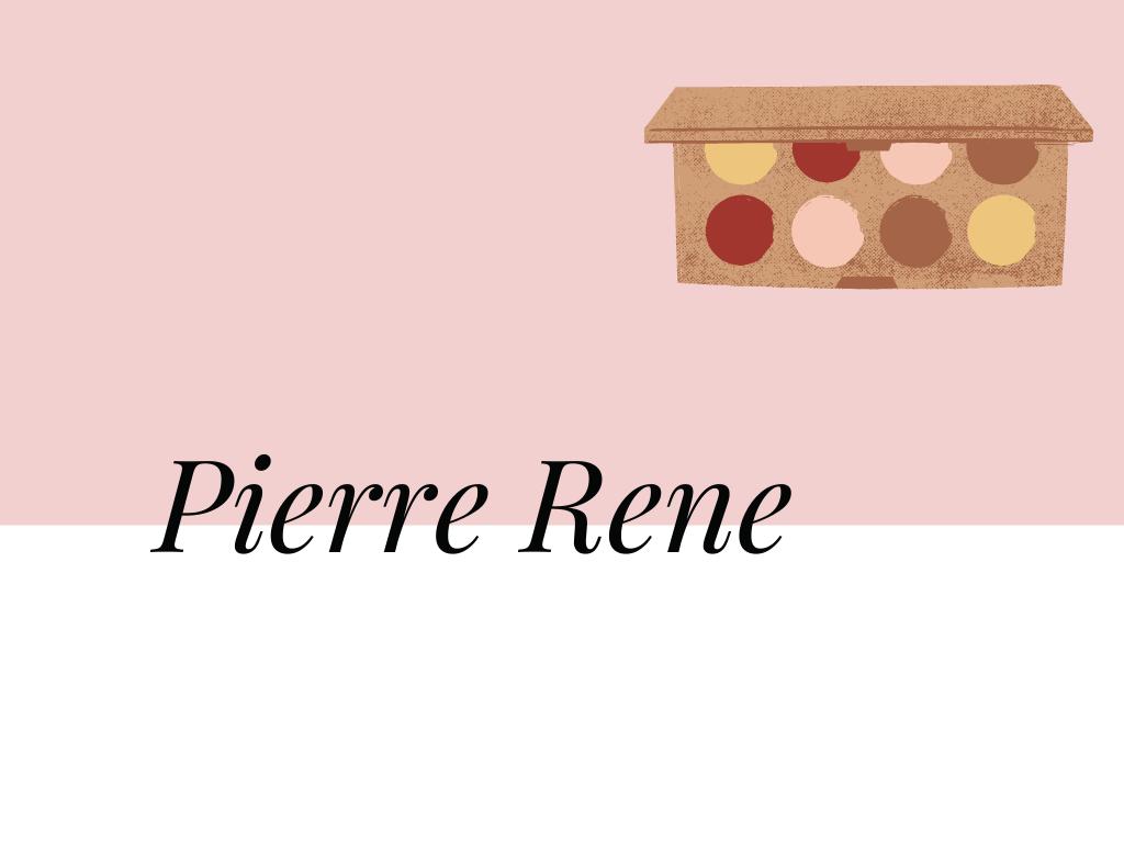 Pierre Rene napis marki