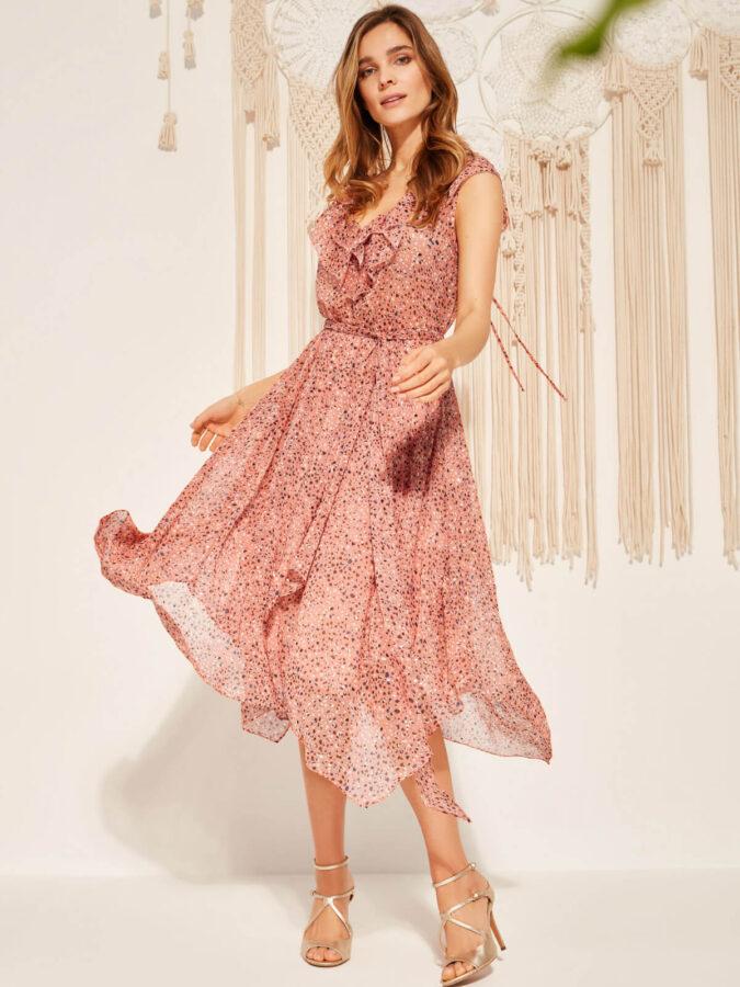 sukienki na wiosnę i lato 2021 suknia od Taranko